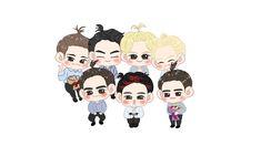 Yugyeom, Youngjae, Got7 Fanart, Jinyoung, Boy Groups, Chibi, Mickey Mouse, Disney Characters, Fictional Characters
