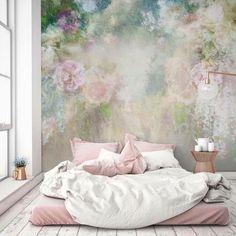 Ideas bright floral wallpaper bedroom colour for 2019 Trendy Wallpaper, Wall Wallpaper, Bedroom Wallpaper, Floral Wallpapers, Flower Wallpaper, Wallpaper Borders, Forest Wallpaper, Wallpaper Designs, Adhesive Wallpaper