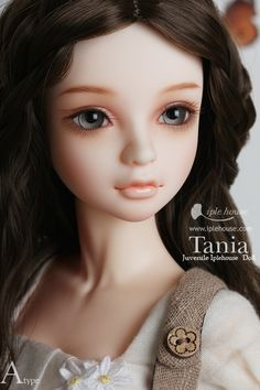 Iple House Ball jointed Doll Shop : J.I.D (45cm) Basic Doll - Girl - Tania