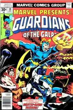 #Marvel Presents: #TheGuardiansOfTheGalaxy No.10 April '77 Enery bubbles of lethal radiation! No problemo http://www.amazon.com/dp/B003J46UHQ/ref=cm_sw_r_pi_dp_2izDsb030Z1H7N5N