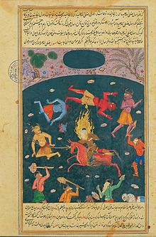 The jinn are supernatural creatures in Islamic and Arabic folklore. They are mentioned frequently in the Qur'an (the 72nd sura is titled Sūrat al-Jinn) and other Islamic texts and inhabit an unseen world in dimensions beyond the visible universe of humans. Together, the jinn, humans and angels make up the three sapient creations of God. Like human beings, the jinn can be good, evil, or neutrally benevolent and hence have free will like humans and unlike angels.