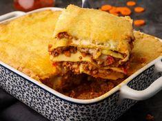 Λαζάνια με κιμά και 4 τυριά Lasagna, Pasta, Ethnic Recipes, Food, Essen, Meals, Yemek, Lasagne, Eten