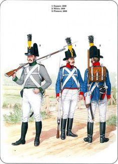 Austria; Sapper, Miner & Pioneer 1809