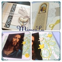 Álbum de orações em scrapbook