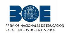 Premios Nacionales de Educación para centros docentes 2014. Solicitudes hasta el 24 de Junio.