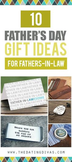 10 Father's Day gift ideas for your father-in-law.