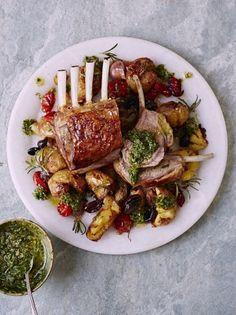 Roast Rack of Lamb & Potato | Lamb Recipes | Jamie Oliver Recipes