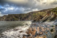 Hartland Cliffs by RGW-Photography