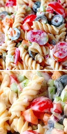 Easy Pasta Recipes, Potluck Recipes, Pasta Salad Recipes, Beef Recipes, Cooking Recipes, Healthy Recipes, Detox Recipes, Recipes Dinner, Breakfast Recipes