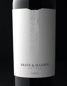 Brave & Maiden | Wine Label & Packaging Design by CF Napa Brand Design