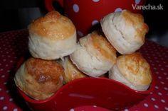 Syrové pagáče (fotorecept) Slovak Recipes, Dumplings, Scones, Muffin, Ale, Bread, Breakfast, Tortillas, Food