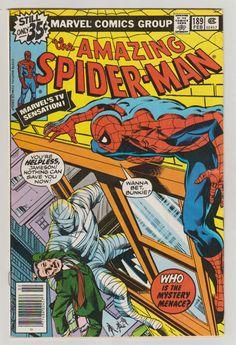 Amazing Spider-Man; Vol 1, 189 libro de historietas de la edad del bronce.  VF. Febrero de 1979.   cubierta de John Byrne