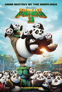 Kung Fu Panda 3 - It's a little rushed compared to the previous entries, but regardless its still funny, gorgeously animated and full of deep messages of self-acceptance. (8/10)