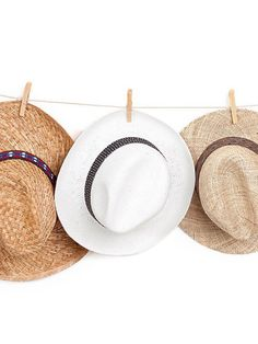 Panama hat , Straw hat , Unisex , White hat decorated with a stunning satin ribbon.