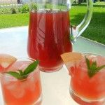 Bourbon Punch with Grapefruit and Mint – Mid-Week Mixers