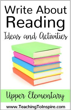 Need some ideas for write about reading time? This post shares several ideas (and freebies) from reader's response letters to choice boards to game boards. Reading Strategies, Reading Activities, Reading Skills, Writing Skills, Teaching Reading, Reading Time, Guided Reading, Reading Resources, Reading Stations
