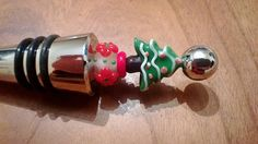 Christmas Tree Wine Stopper Festive Wine by MichelesAManoDesigns, $14.00