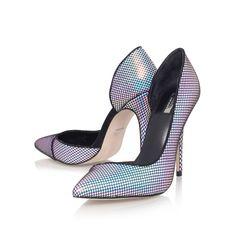 alissa multi coloured high heel court shoes from Carvela Kurt Geiger