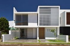 Image result for modern minimalist 2 storey house facade images Modern Minimalist House, Minimalist Architecture, Contemporary Architecture, Architecture Design, Building Architecture, Minimalist Style, Minimalist Design, Modern Contemporary, Design Exterior