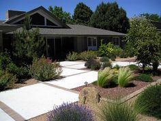 front yard desert landscapes | See more of this front yard landscape: A Modern Coastal Landscape with ...