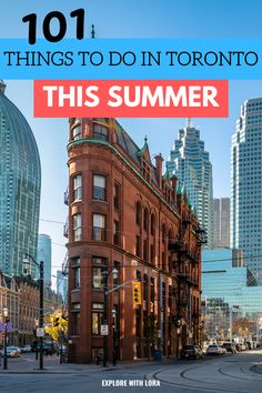 Looking for fun things to do in Toronto this summer? Plan your ultimate Toronto summer bucket list with over 100 ideas of things to do in Toronto including free things to do + ideas for road trips from Toronto! #toronto #ontario #bucketlist #summer #thingstodoin Toronto Nightlife, Toronto Travel, Free Things, Things To Do, Travel Guides, Travel Tips, Places To Travel, Travel Destinations, Ontario Place