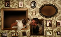 10 Creative Ways to Add Frames to Your Wedding - Belle the Magazine . The Wedding Blog For The Sophisticated Bride