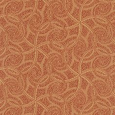 FORTUNE © Color: COPPER MINE Fortune offers up an abundance of intricate, luxurious swirls and layering. The inspiration derives in part from the extraordinary burnished metalwork and opulent jewelry of ancient Islamic artisans and by the highly decorative surfaces that inspired Art Deco designers.