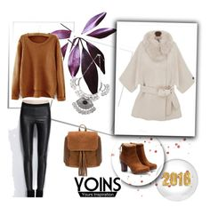 """YOINS"" by lela1992 ❤ liked on Polyvore featuring women's clothing, women's fashion, women, female, woman, misses, juniors and yoins"