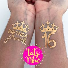 TATTOOS 16 PERSONALISED joke SICK Drinking party 18th 21st 40th 50th BIRTHDAY