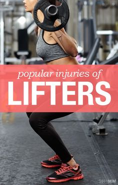 Check out these most common ailments of lifters.