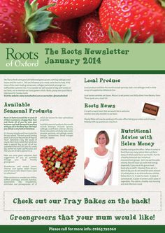 Roots Newsletter January 2015