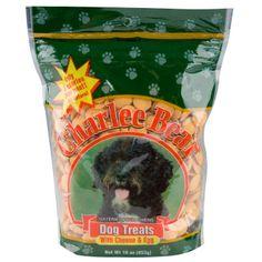 Charlee Bear Dog Treats: Cheese & Egg 16oz - $5.00