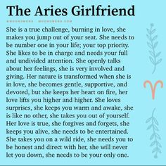 Zodiac Signs Chart, Aries Zodiac Facts, Aries And Libra, Aries Traits, Aries Love, Aries Quotes, Aries Woman, Aries Horoscope, Zodiac Signs Astrology