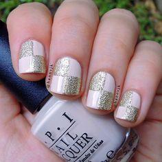 Un lindo mani con O.P.I #nails #mani #O.P.I