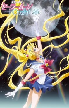 Sailor Moon Crystal... i love salior moon but i maybe bias there romance comdey and characters you will love