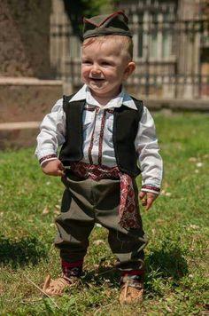 Happy little Serbian boy. (V)