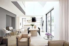 Satteldachhaus bietet Loft-Atmosphäre: Moderne Tradition mit Satteldach