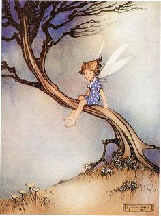 'My Little Son, Dandelion' by Ethel Jackson Morris* in 'The White Butterfly and other Fairy Tales' (1921).
