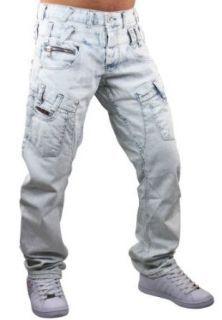 Cipo & Baxx Jeans Hose Bleached C 831 hellblau Bekleidung