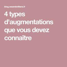 4 types d'augmentations que vous devez connaître