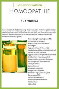Nux vomica wird verwendet, um Gewicht zu verlieren