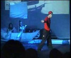 Kwai Chi dances kung fu style back in 2004ish
