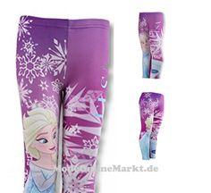4260482227524   #Disney #Frozen Die #Eiskönigin #Leggings #(UN271) #(98, #Lila)