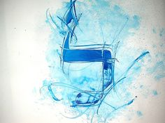 Lamed. Hebrew calligraphy