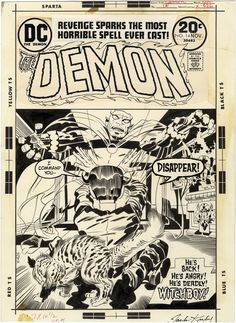 The Demon, Issue 14, Cover