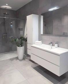 Grey bathrooms designs - 32 best bathroom designs images of beautiful bathroom remodel ideas to try 20 Grey Bathrooms Designs, Bathroom Designs Images, Modern Bathroom Design, Bathroom Interior Design, Bath Design, Ikea Interior, Contemporary Bathrooms, Toilet And Bathroom Design, Restroom Design