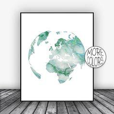 Europe Print, Europe Map, Globe Art, Globe Print, Globe Decor, World Map Poster, World Map Wall Art, World Map Print, World Map Decor #WorldMapPrint #Europe #GlobeArt #Globe #WorldMap #GlobePrint #EuropePrint #GlobeDecor #EuropeMap #WorldMapPoster