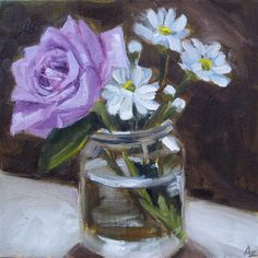 While the Sun Shines - Original Fine Art for Sale - � Azra Iqbal