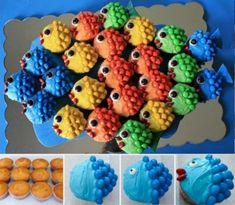 Fish Cupcake Tutorial