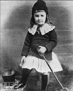 Franklin D. Roosevelt, 3 years old.